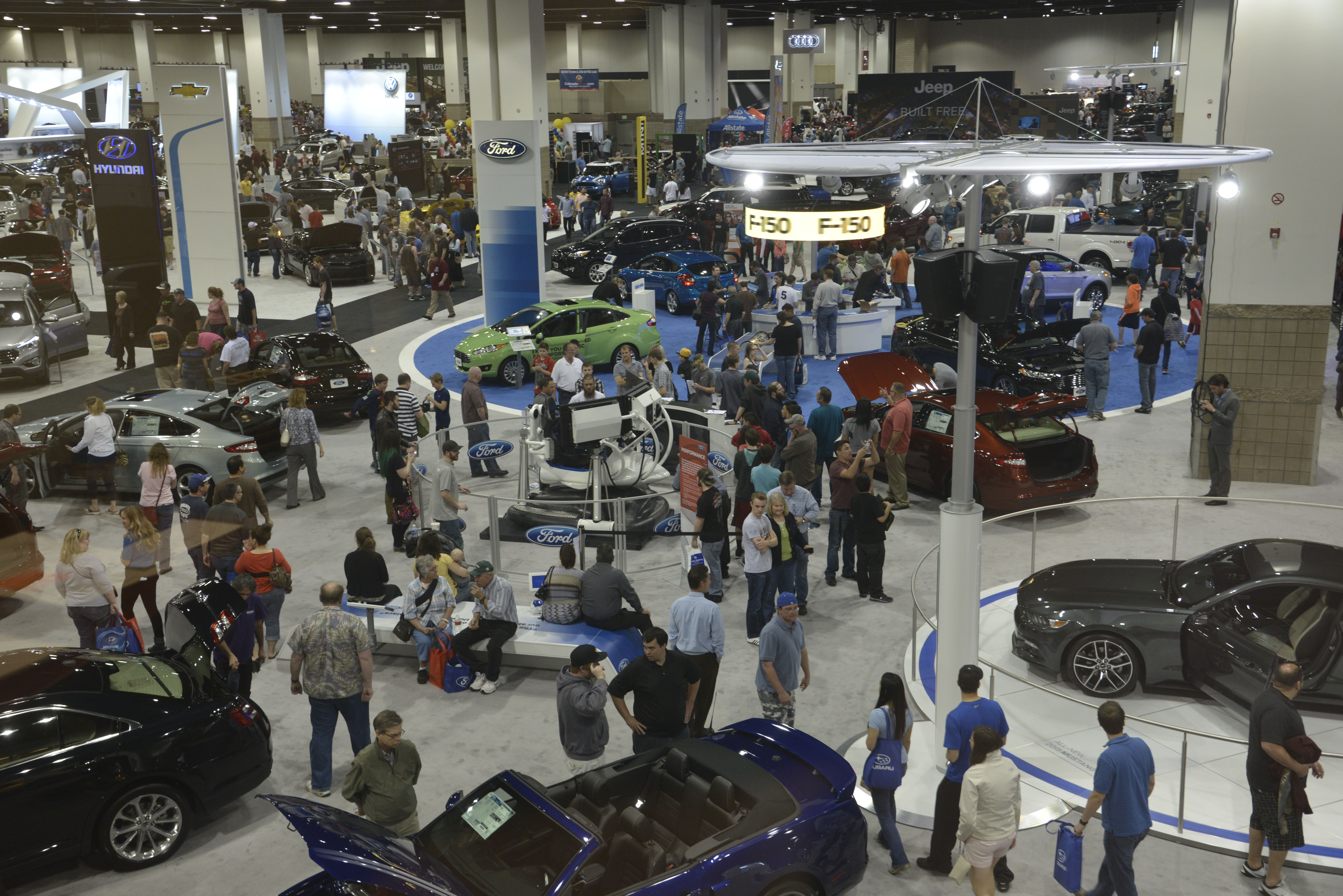 Denver Auto Show Paragon Expo