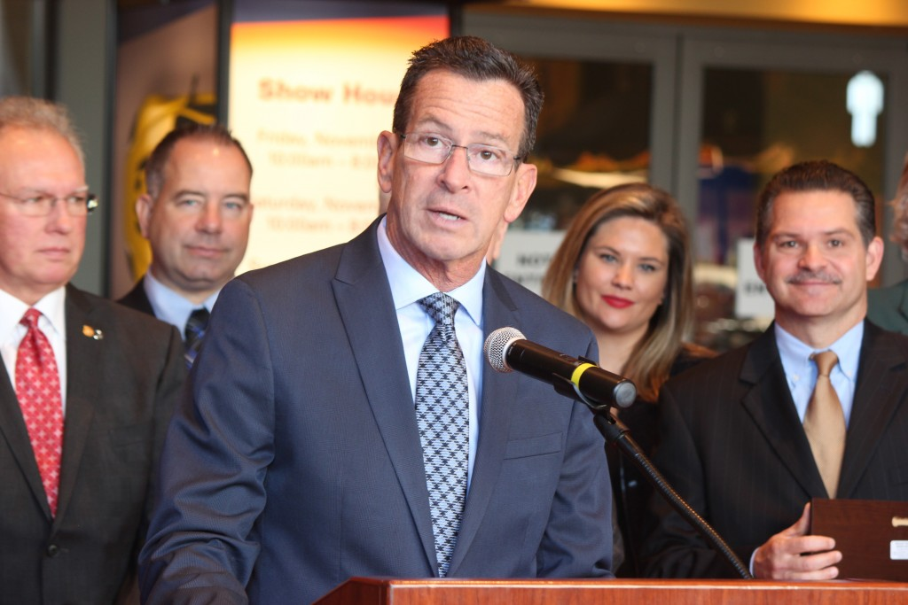 Connecticut State Governor Dannel Malloy