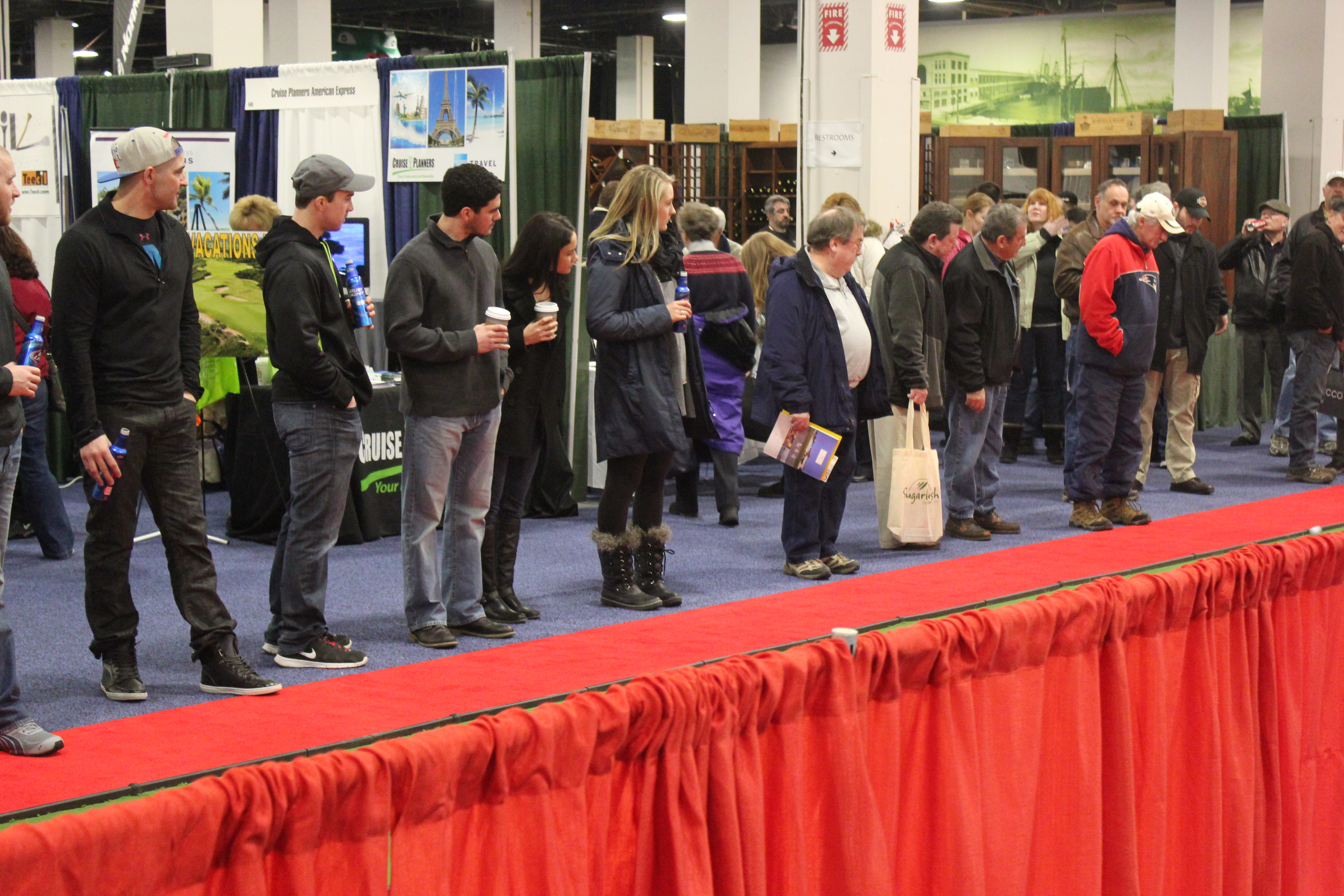 Boston Swings Into Spring At The 2015 National Golf Expo
